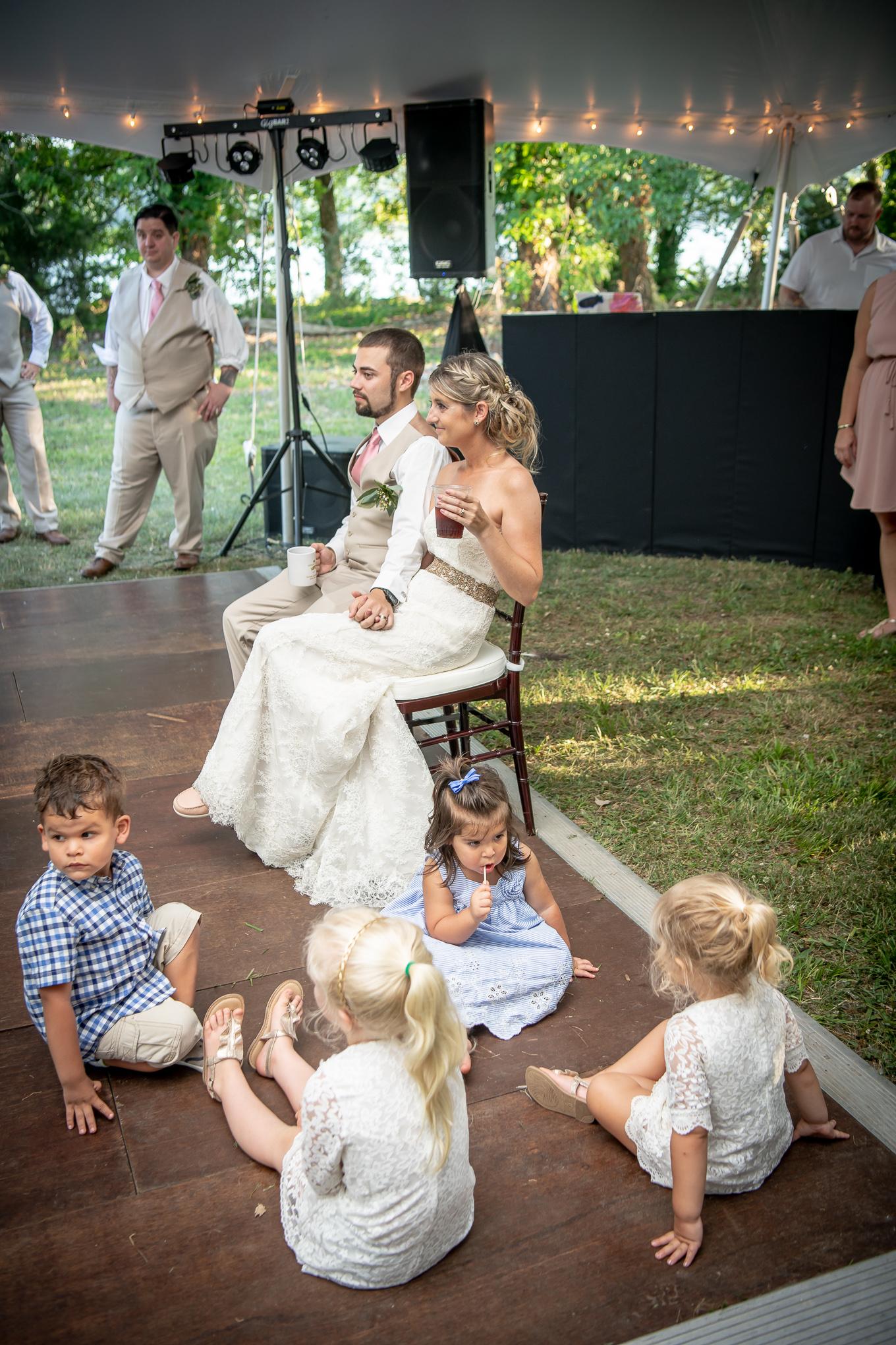 Wedding reception in Nashville