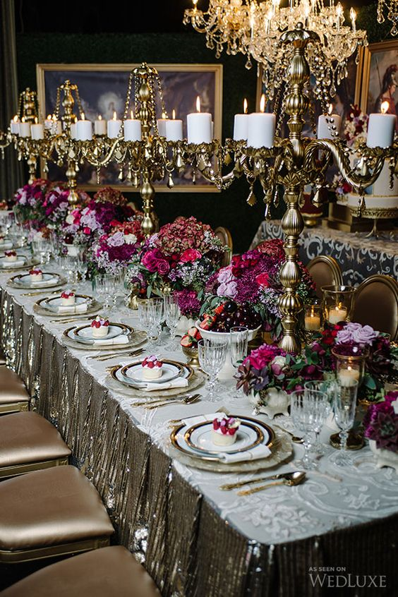 Wedding Inspiration from WedLuxe Magazine