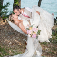 Sarah + Michael's Edgar Evans State Park Wedding
